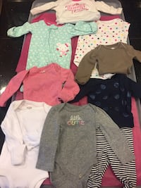 Baby girl newborn clothes  1970 mi