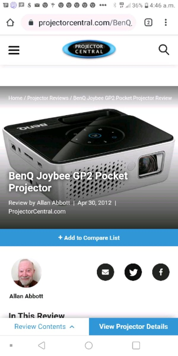 Projector for sale f0acee58-6283-4483-974d-0d0979ea33be
