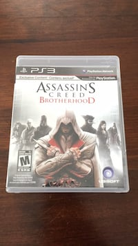 Assassin's Creed Brotherhood PS3 game case Guelph/Eramosa, N1E 7K8