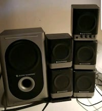 5-piece Altec Lansing pc stereo speakers St. Catharines, L2R 3K8