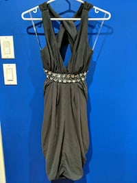 Lipsy Cocktail Dress with Open Crossed Back Mississauga