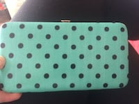 Cute mint polka dot wallet Boise, 83702