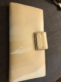Kate Spade white leather wallet (New) Rockville, 20850