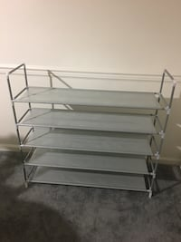 5 Tier 25 Pairs Shoe Organizer  Virginia Beach, 23455