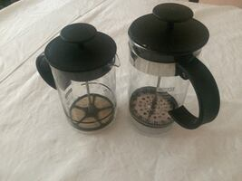 Bodum French press coffee maker+milk frother.