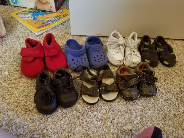 c1d2bd981d632b Used Baby Boy s Shoes Size 4 for sale in Forney