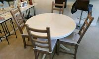 Dining table and four chairs - Ikea Ingatorp table Rockville, 20852