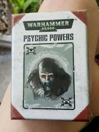 Warhammer psychic powers cards new sealed. Dickinson, 77539