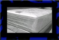 """Full 16"""" double pillow top mattress with boxspring Alexandria, 22306"""