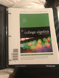 College Algebra Book