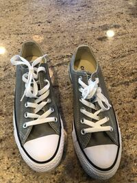 pair of gray Converse low-top sneakers Chapel Hill, 27516