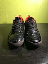 Adidas AR-D1 low Black and red leather 1991 Portland, 97236