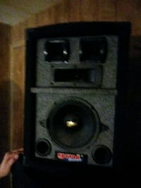 black and gray subwoofer speaker Las Vegas, 89110