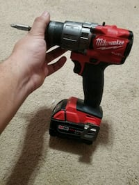 red and black Milwaukee cordless impact wrench Woodbridge, 22193