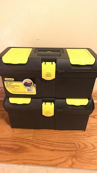 2 Stanley tool boxes!
