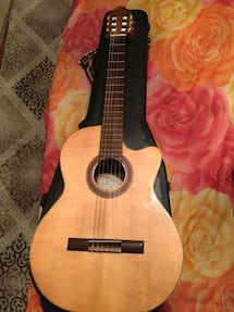 Cremona acoustic guitar with Fishman tuner call #  [TL_HIDDEN]