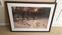37x27 sheep picture framed Mount Holly, 28120