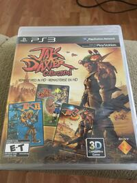 Jak and Daxter Collection PS3 game  Langley, V2Y 1B5