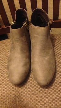 Women's gray booties Annandale, 22003