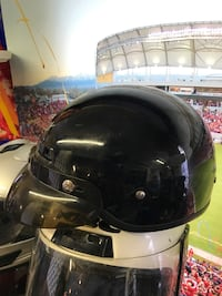 Helmets for motorcycle drivers