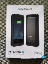 Atomic S Battery Case iPhone 5