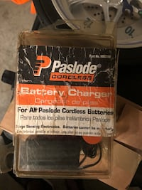 Paslode Ni-Cd Oval and Stick Cordless Battery Charger
