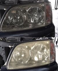 Car headlight restoration Toronto, M6E 1N1