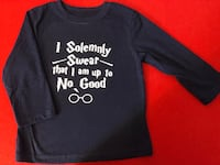 Navy Blue Harry Potter Long Sleeved Shirt
