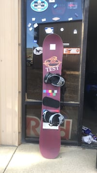 USED SHAWN PALMER RARE PROTOTYPE UV TEST SNOWBOARD 167 CM WITH LARGE NIDUS BINDINGS MADE IN AUSTRIA  Reno, 89506