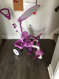 toddler's purple and white push trike Ajax, L1T 4H3