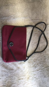 Red and brown crossbody bag Ashland, 23005