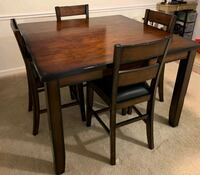 Counter height table and 4 chairs Fairfax, 22030