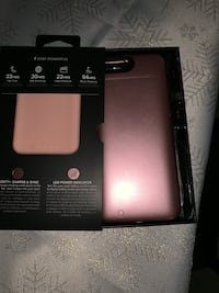 iPhone 8 Plus life proof case and Mophie 8 mi