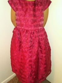 Little girls size 10 red dress excellent condition Tucson, 85712