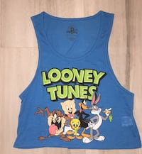 Blue Looney Tunes Tank Top Downey, 90242