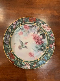 The Anna's Hummingbird Collector Plate