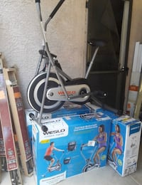 FREE DELIVERY. Weslo cross cycler exercise bike