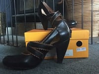 Shayna black heels brand new SIZE 6 US RRP $245 South Hill, 9400