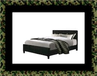 King platform bed with mattress 47 km