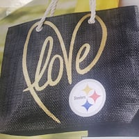 New sealed NFL love Steelers tote purse bag Scranton, 18504