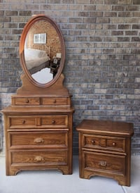 brown wooden dresser with mirror Bolivia, 28422