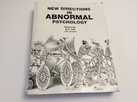 New direction in abnormal psychology by R.O.Phil and J.M.Assaads Toronto, M3B 1J7