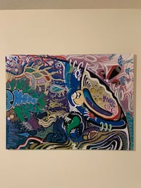 Art Canvas Painting Vancouver, 98686
