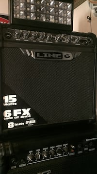 Black line6 guitar amplifier Kitchener, N2A 4C4