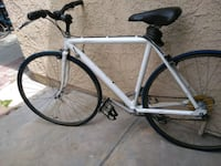 White Cannondale  Hydride