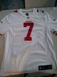 white and red NFL jersey Bend, 97701