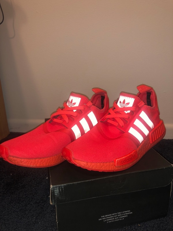 771476a89735f Used Adidas NMD R1 Solar Red 9.5 for sale in Naperville - letgo