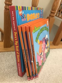 5 Dora the Explorer and Backyardigans and Blues Clues Books  Barrie, L4M 7K4