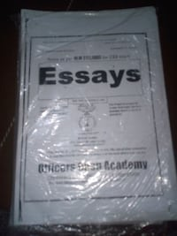 CSS complete notes Officers Academy for sale Lahore