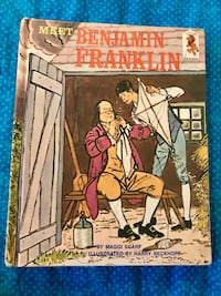 1969 Benjamin Franklin book Paterson, 07505